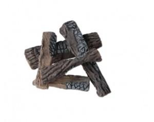 Keramična drva - 5 kosov