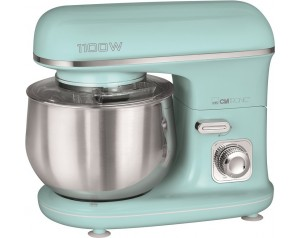 Kuhinjski robot CLATRONIC KM3711, 1100 W, v mint barvi
